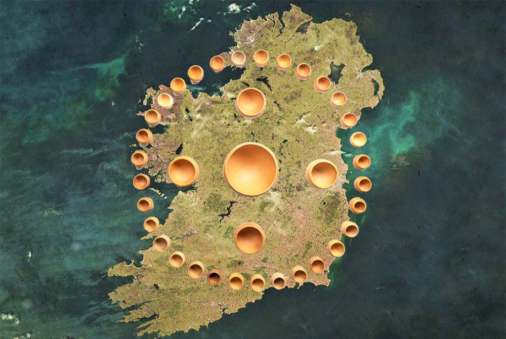 Island Biome of Ireland Card